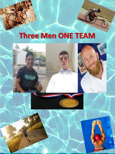 Three mens One TEAM
